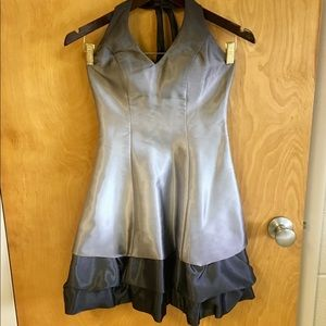 Dresses & Skirts - Silver and Black Dress